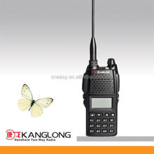 KL-550 police radio DTMF Function uhf vhf radio dual band best range walky talky