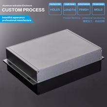 aluminum alloy industrial embedded mini pc case 229*35*150 mm