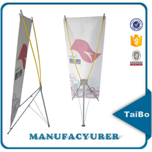 trade fair economic X banner display stand, flex X banner display stand