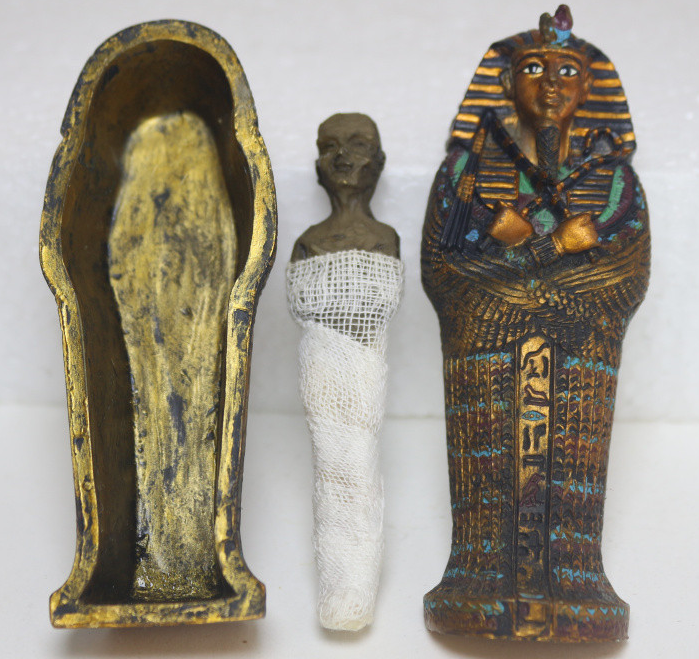 Egyptian Pharaoh coffin mummy egypt crafts souvenirs