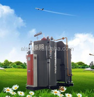 Energy saving 10% thermal efficiency 98%-100% Vertical Condensing Steam Boiler