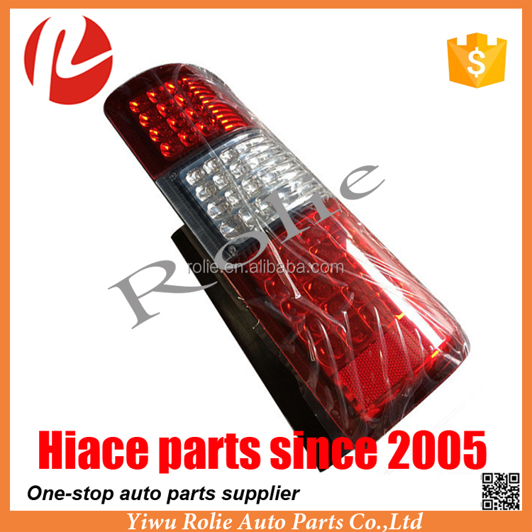 Japanese car auto parts Jimny JB43 red clear LED tail light