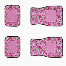 New Arrival Monogrammed Lily Car Mat