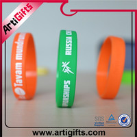 Promotional gifts high quality political silicone wristbands