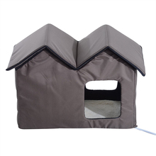Heated Outdoor Cat Shelter Heated Pet House