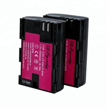 Digital battery LP-E6 LP E6 LP-E6N for Canon 5DS 6D 7D ii iii 80D