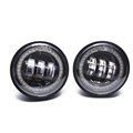 "RGB fog light 4.5"" fog light fog lamp with angle eye for harley motorcycle"