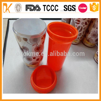 Double wall promotional pp plastic cup