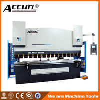 Good performance hydraulic bending machinery,100T3200mm press brake