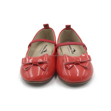 wholesale new model beautiful stylish fancy simple flat dress costume party kids girls shoes