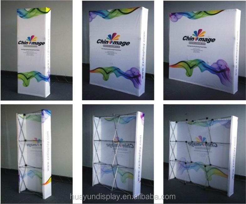 Exhibition Aluminum Pop up Trade Show Booths