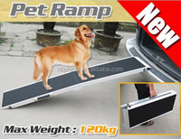 Folding Aluminum Pet Ramp, Pet Stairs/Dog Ramp/Pet Steps