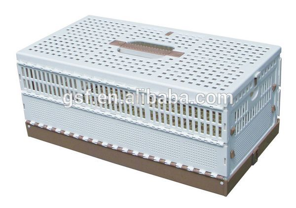 Brand new plastic folding pigeon cage high quality display plastic pigeon cage with CE certificate