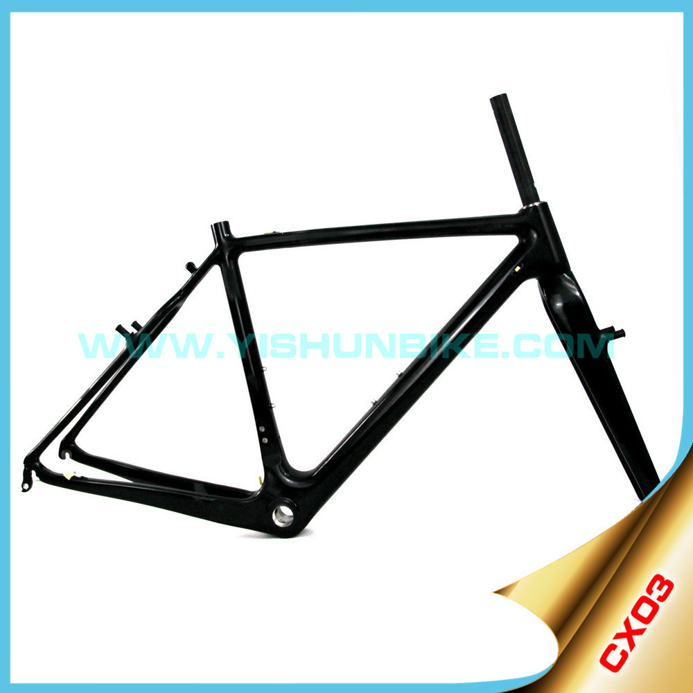 YISHUNBIKE 2015 fast delivery new CX03-V 700c china carbon frame cyclocross
