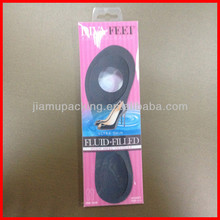 Wholesale clear plastic insole packaging box