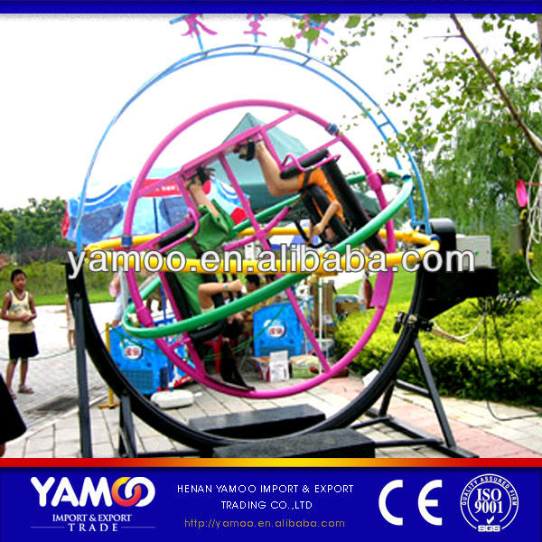 [Yamoo] Amusement Park Rides Manufacturer 2 Seats/4 Seats/6 Seats <strong>Human</strong> Gyroscope For Sale