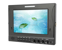 Dual 3G/HD-SDI 7 Inch IPS LCD Panel with waveform vectorscope and RGB Histogram