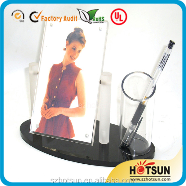 high transparent hot sexy video photo frame
