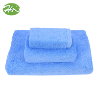 Spa Bath Cotton Plain Dyed Custom Jacquard Embroidery Hand Towel