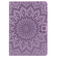 Fashioal mandala pattern flip leather case for ipad 2 3 4 new design high quality case