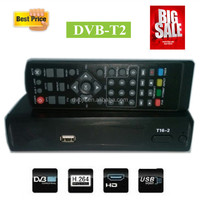 Factory price dvb-t2 set top box satellite receiver all channels for Ghana