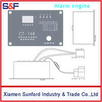 Combustible Gas Alarm Designed for Car