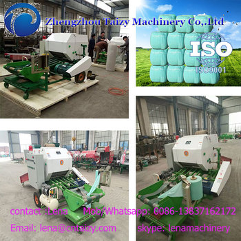 Corn baling and wrapping machine 0086-13837162172