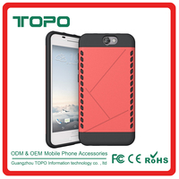 Wholesale 2 in 1 hybrid pc tpu aegis phone case shockproof combo phone case for HTC A9