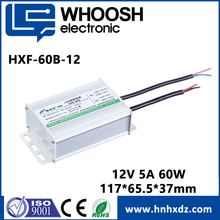 constant voltage 60W ac dc 5a power supply 12V waterproof
