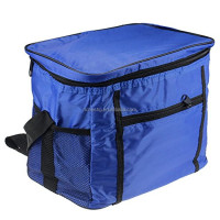 300D polyester Fully Insulated wine cooler bag,cooler bag for frozen food,mini cooler bag