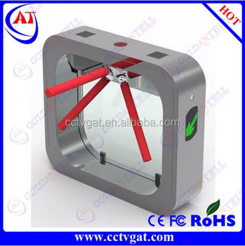 New style Security RS485/TCP IP Access control turnstile & RFID card access turnstile gate & Access control gate