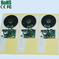 Superb quality best price musical sound chip for card