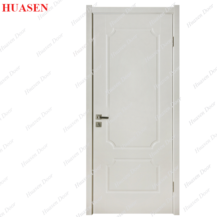 russia pvc single swing door with hardware