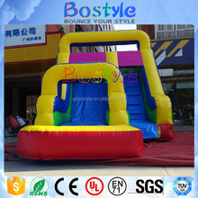 New design Interesting Gaint Inflatable Water Commercial Slide With Pool