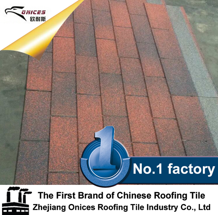 ONICES Fiberglass Asphalt shingle, 50years Guaranteed, New Zealand Technology Color Corrugated Metal Steel Roofing Sheet