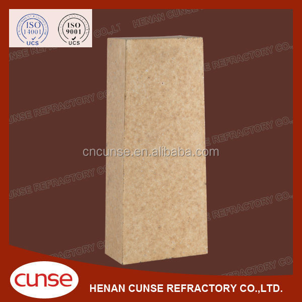 Blast Furnace Used Acid Slag Resistant High Alumina Refractory Brick for Sale