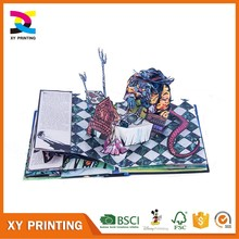 Kids Activity Pop Up Book Printing