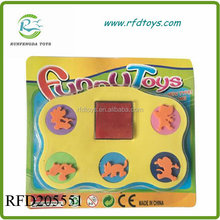 Beautiful and funny eva foam stamp toys for kids
