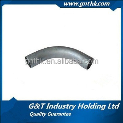 45 degree pipe bend galvanized bend