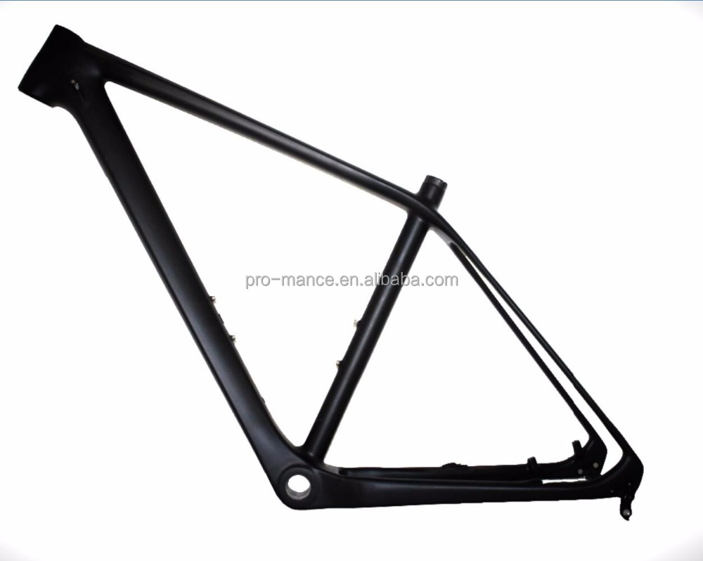 Oops!Monocoque Intenal/DI2 design 29er D/V-brake BSA/PF30/BB30 carbon MTB frame