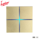 Hot Sale KNX Smart home intelligent 4 gang soft touch light switch electrical control network leather switch