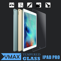 New Coming !! Full Cover 2.5D Curved Edge 9H Hardness HD Clear Tablet Tempered glass screen protector for Apple IPad Pro