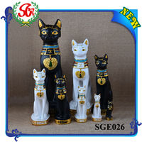 SGE026 Cat Statue Egyptian Style Decor