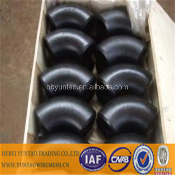seamless & erw butt-welding pipe fitting, CS SS bw fitting elbow tee cross reducer cap