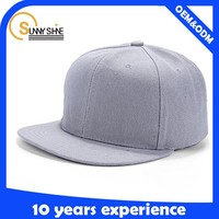 Sunny shine 2016 high quality cheap cap custom aimple snapback new design embroidery Flat snapback hat