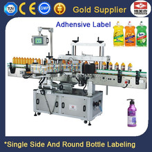 Automatic Adhesive Sticker Wash Care Bottle Label Printing Machine