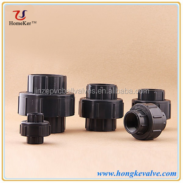 Cool Water Plastic Thread PVC Pipe Union Fitting For Sri Lanka