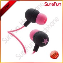 2013 hot sale fashion headphone with MIC 3.5 mm soyle earphones
