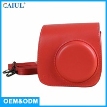Best prices Mini8 red PU soft leather unique Instant cheap camera bag