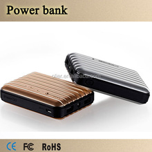 travel all over the word luggage 13000mah portable charger